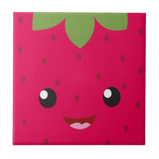 cute Strawberry Ceramic Tile
