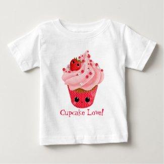 Cute Strawberry Cupcake