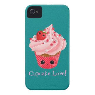 Cute Strawberry Cupcake iPhone 4 Case-Mate Cases