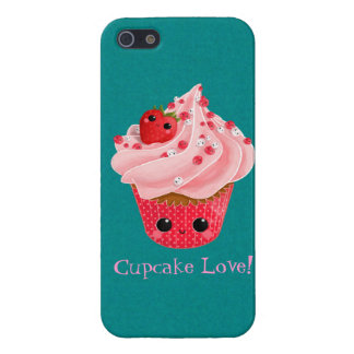 Cute Strawberry Cupcake Covers For iPhone 5