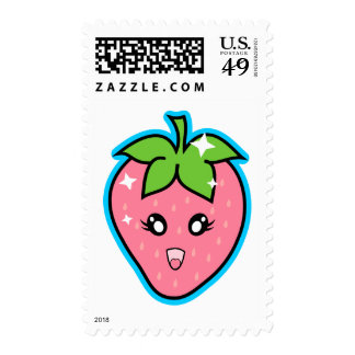 Cute Strawberry Postage