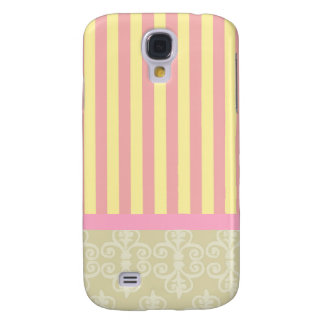 Cute Striped/Victorian Style iPhone 3GS Cover