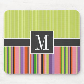 Cute Stripes Mouse Pad