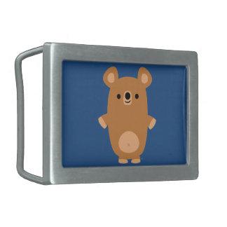 Cute Strong Cartoon Bear Belt Buckle