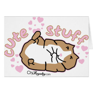 Cute Stuff Greeting Cards