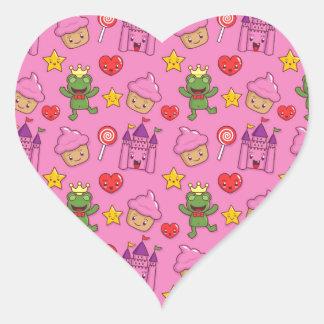 Cute Stuff Heart Sticker