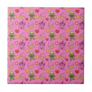 Cute Stuff Small Square Tile