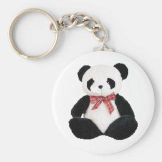 Cute Stuffed Panda Keychains