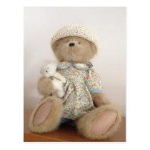 Cute Stuffed Teddy Bear Postcard
