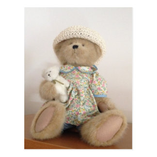 Cute Stuffed Teddy Bear Postcard