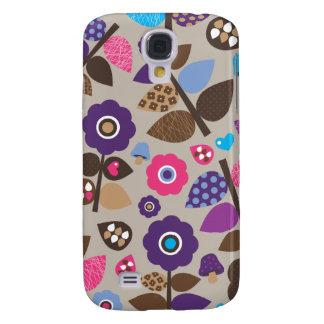 Cute stylish dot retro flower case