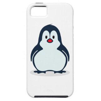 Cute Stylized Cartoon Penguin Facing Forward iPhone 5 Case