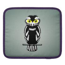 Cute Stylized Owl iPad Sleeve