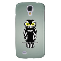 Cute Stylized Owl Samsung S4 Case