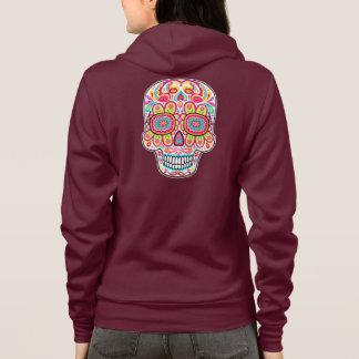 Cute Sugar Skull Hoodie - Day of the Dead Hoodie