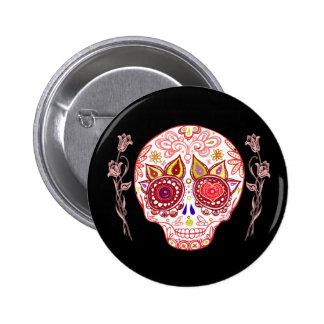 Cute Sugar Skull Pin