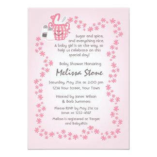 Cute Sugar U0026amp; Spice Baby Shower Invitation