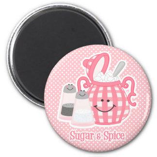 Cute Sugar & Spice Magnet