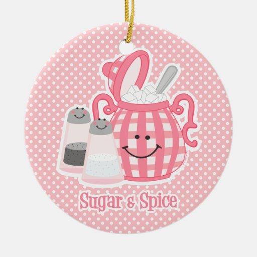 Cute Sugar & Spice Ornament