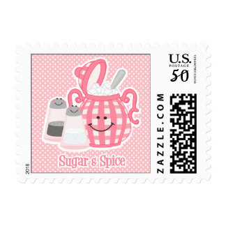 Cute Sugar & Spice Postage