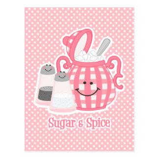 Cute Sugar Spice Postcard