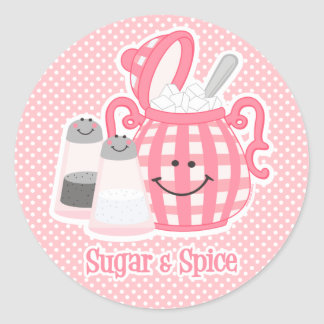 Cute Sugar & Spice Sticker