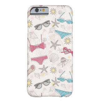 Cute Summer Abstract Pattern iPhone 6 Case