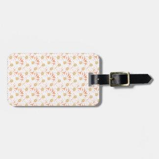 Cute Summer Daisies Pattern Luggage Tag
