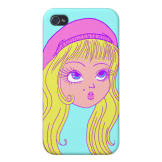 Cute Summer Girl iPhone 4/4S Covers