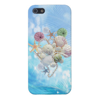 Cute Summer Starfish , Shells And Pearls iPhone SE/5/5s Cover