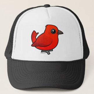 Cute Summer Tanager Trucker Hat