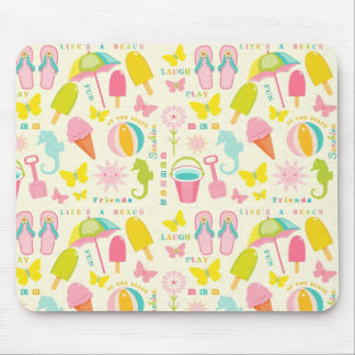 Cute Summertime Mouse Pad