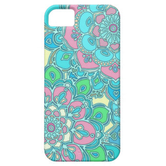 Cute Summery iPhone case in Pink, Blue, Mint Green