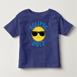 Cute Sun Eclipse 2017 Toddler T-shirt
