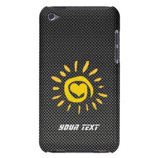 Cute Sun Faux Carbon Fiber Case-Mate iPod Touch Case