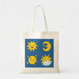 Cute sun & moon - Bag