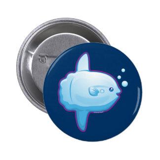 Cute Sunfish Pinback Button
