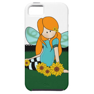 Cute Sunflower Girl iPhone 5 Cover