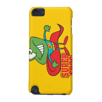 cute super frog superhero cartoon iPod touch (5th generation) covers