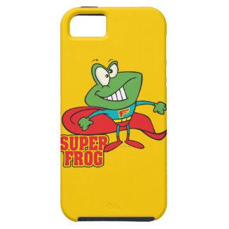 cute super frog superhero cartoon iPhone SE/5/5s case