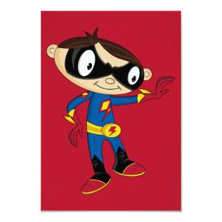 Cute Superhero Boy Card