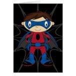 Cute Superhero Boy Cards
