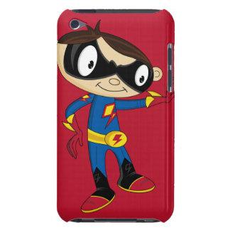 Cute Superhero Boy iPod Touch Case-Mate Case