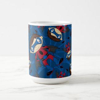 Cute Superhero Boy Pattern Mug