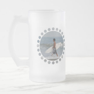 Cute Surfer Frosted Mug