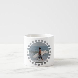 Cute Surfer Specialty Mug 6 Oz Ceramic Espresso Cup