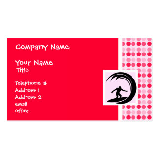 Cute Surfing Business Card