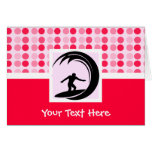 Cute Surfing Greeting Cards