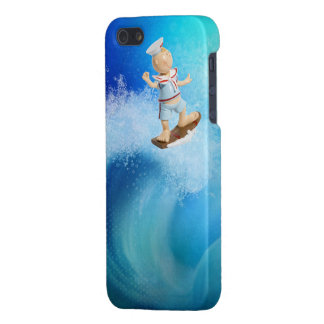 Cute Surfing Sailor Case For iPhone SE/5/5s