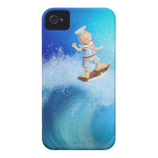 Cute Surfing Sailor Case-Mate iPhone 4 Cases